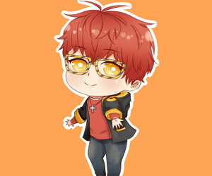 chibi, seven, and 707 image