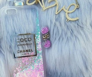 chanel, glitter, and iphone image