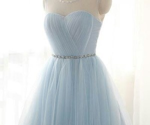 dress and light blue prom dress image