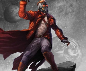 guardians of the galaxy, starlord, and peter quill image