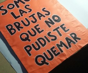 cartel, brujas, and feminist image