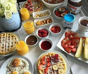 food, breakfast, and yummy image