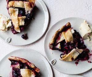 dessert, pie, and sweet image