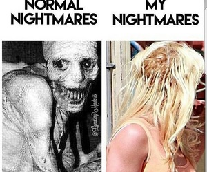 bad hair day, nightmare, and true image