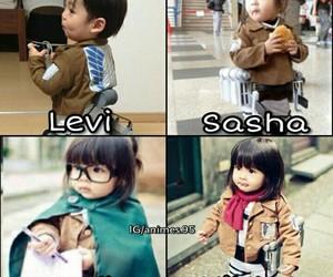 cosplay, kawaii, and levi image