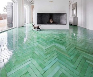 floor, house, and green image