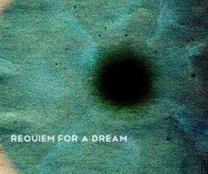 eye, requiem for a dream, and blue image