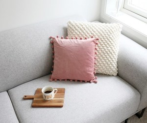 cushion, girly, and home image