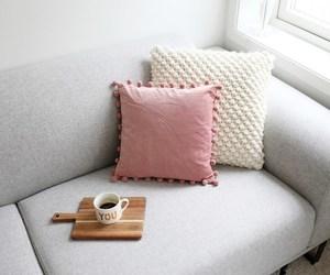 cushion, girly, and pink image