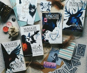 books, maggie stiefvater, and the raven boys image