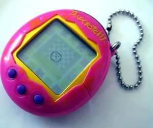 tamagotchi, childhood, and game image