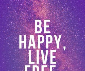 wallpaper, happy, and quotes image