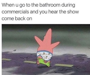 funny, bathroom, and show image