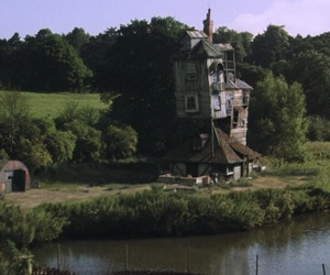 harry potter, house, and the burrow image