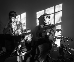 alternative, band, and black and white image