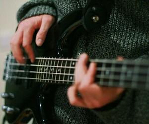 guitar, music, and bass image