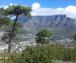 tablemountain and capetown image