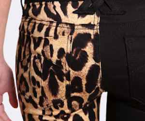 fashion, leopard, and jeans image
