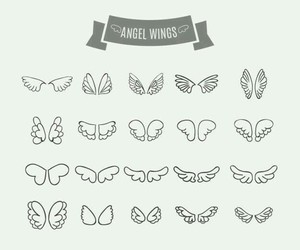 drawing+, wings+, and angel+wings+ image