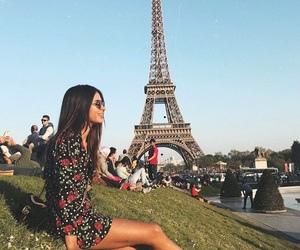 paris, style, and summer image