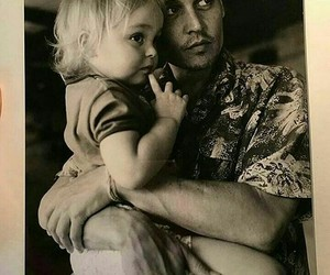 baby, love, and johnnydepp image