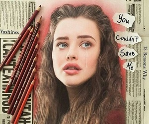13 reasons why, hannah baker, and art image