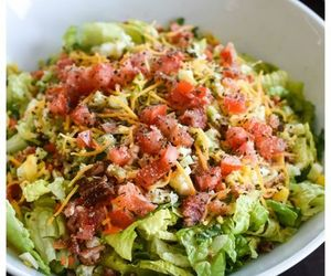 recipe, salad, and side image