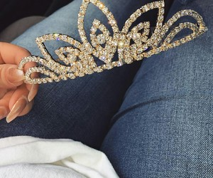 fashion, beautiful, and crown image