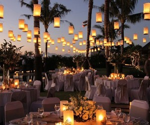 wedding, light, and romantic image