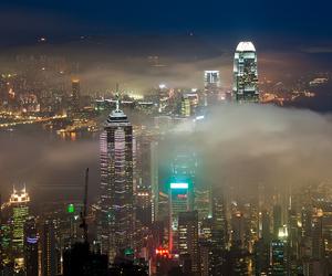 buildings, china, and hong kong image