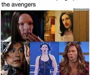 Avengers, funny, and spiderman image