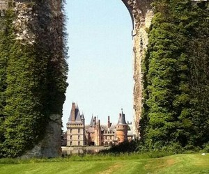 castle, france, and travel image