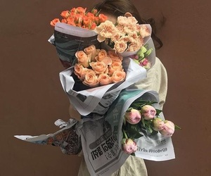 bouquet, fashion, and floral image