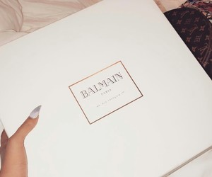 Balmain, Louis Vuitton, and style image