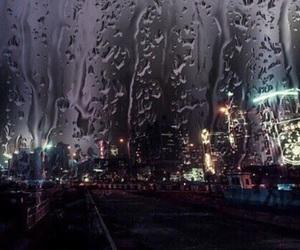 theme, rain, and dark image