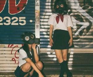 girl, japan, and grunge image