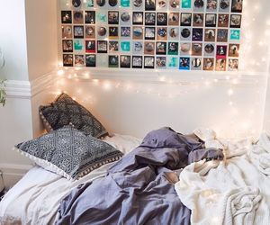 bedroom, grunge, and hipster image