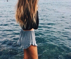 california, hair, and shorts image