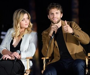 lucy hale, ashley benson, and keegan allen image
