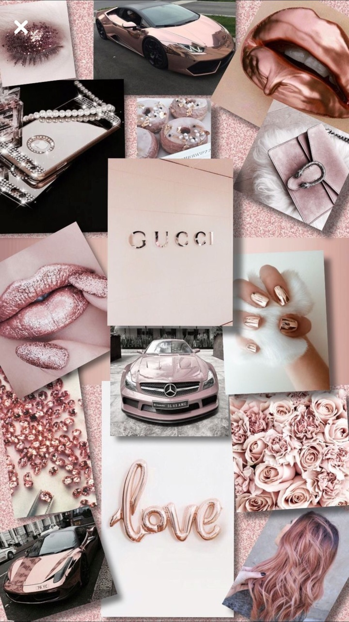 Rose Gold Iphone 7 Plus Wallpapers On We Heart It