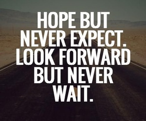 expect, hope, and wait image