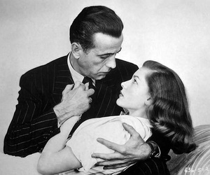 Humphrey Bogart, old hollywood, and Lauren Bacall image