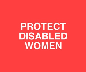 feminism, women, and disability image