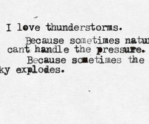 quote, thunderstorm, and nature image