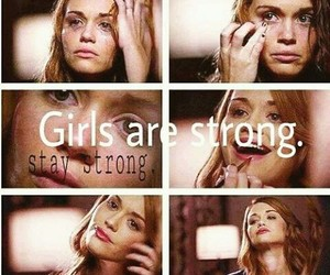 girls, strong, and teen wolf image