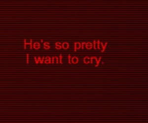 guy, quotes, and red image
