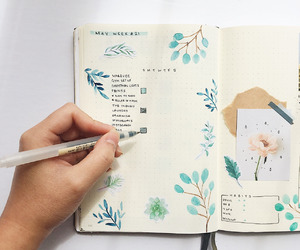 journal ideas and bullet journail image
