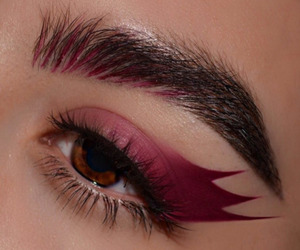 makeup and red image