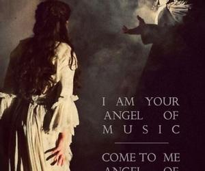 dress, Lyrics, and Phantom of the Opera image