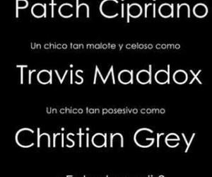 book, christian grey, and travis maddox image